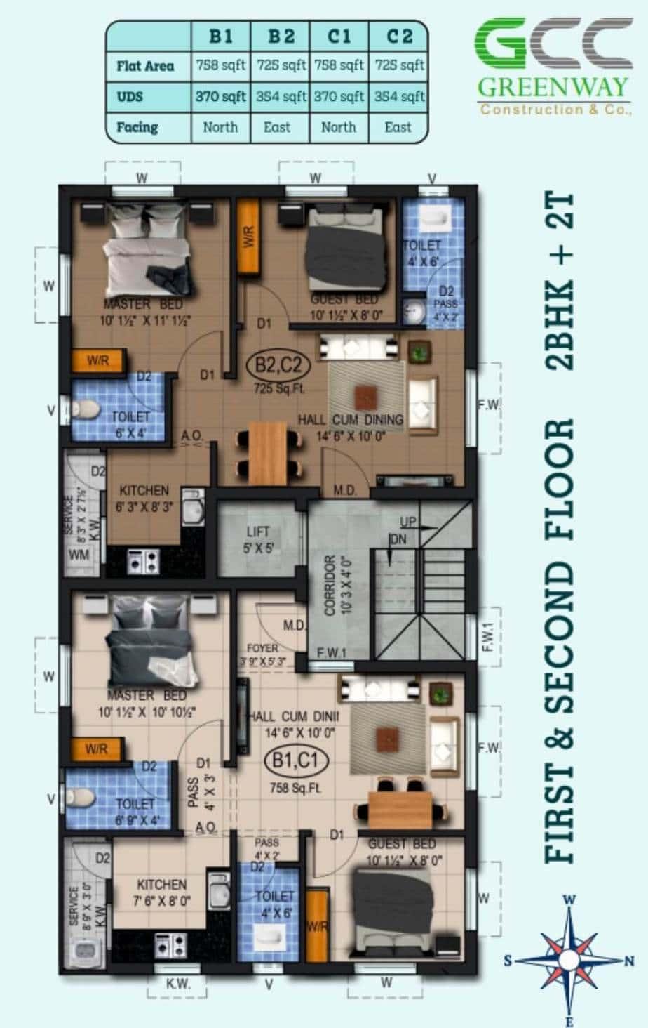 Kalyan-Fisrt-Second-floor